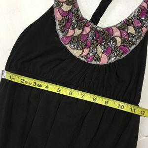 Charlotte Russe Dresses - Charlotte Russe | black maxi dress sequins braided